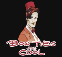 Bow Ties Are Cool by nardesign