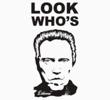 Look Who's Walken Kids Tee