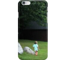 The Mysterious Barn iPhone Case/Skin