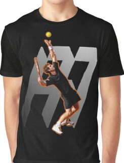 Andy Murray #1 on top of the world Graphic T-Shirt