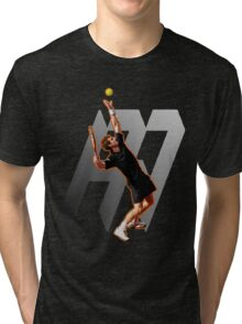 Andy Murray #1 on top of the world Tri-blend T-Shirt