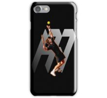 Andy Murray #1 on top of the world iPhone Case/Skin