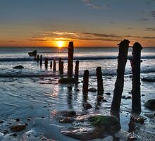 Sandsend Sunrise by © Steve H Clark