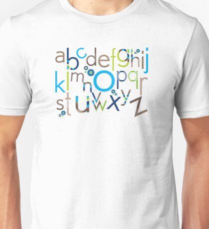 TYPOGRAPHY :: trendy alphabet 6 Unisex T-Shirt