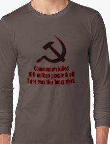 Lousy Communism Shirt Long Sleeve T-Shirt