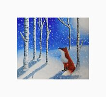 Fox In The Snowy Woods Unisex T-Shirt