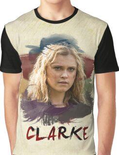 Clarke - The 100 - Brush Graphic T-Shirt