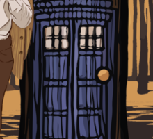Dr Who Sticker