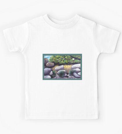 Tree and Boulders Kids Tee
