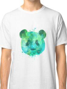 Watercolor Panda Head Painting Classic T-Shirt