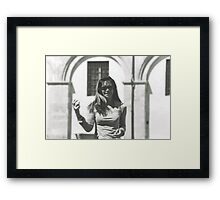 Guendalyn 2012....parma - italy-  Framed Print