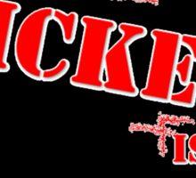 WICKED is good BLACK Sticker