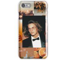 River Phoenix Orange Aesthetic  iPhone Case/Skin