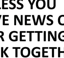 My Chemical Romance news Sticker
