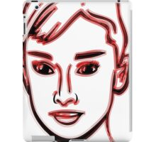 Audrey Hepburn Red iPad Case/Skin