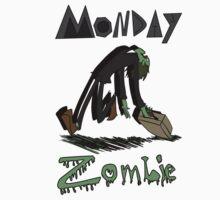 Monday Zombie Kids Tee