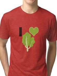 I heart Kale Tri-blend T-Shirt