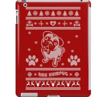 Cute Pug Ugly Christmas Sweater iPad Case/Skin