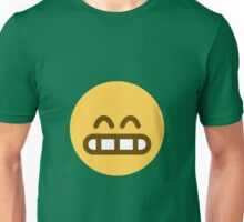 Grinning face with smiling eyes Unisex T-Shirt