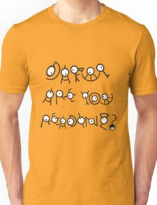 Dafuq are you Reading? V.1 Unisex T-Shirt