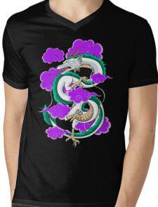 Haku Clouds Mens V-Neck T-Shirt