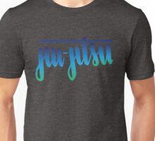Jiu-Jitsu Handlettered Ombre Unisex T-Shirt