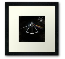Daft Side Of The Moon Framed Print