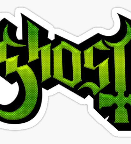 GHOST - lizard king Sticker