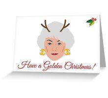 Golden Girls - Dorothy Zbornak Christmas Card Greeting Card