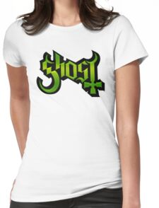 GHOST - lizard king Womens Fitted T-Shirt