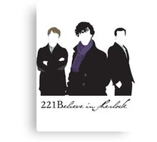 221Believe Canvas Print