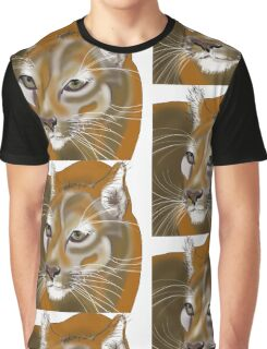 Lynx in the Jungle Graphic T-Shirt