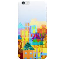 Paper town (Mixed) iPhone Case/Skin
