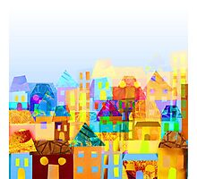 Paper town (Mixed) Photographic Print