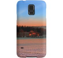 Colorful winter wonderland sundown III | landscape photography Samsung Galaxy Case/Skin