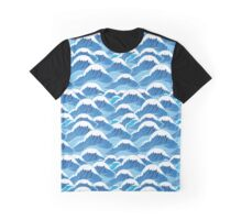 sea wave pattern Graphic T-Shirt