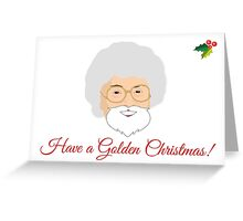Golden Girls - Sophia Petrillo Christmas Card - Estelle Getty Greeting Card