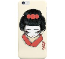Maiko iPhone Case/Skin