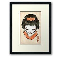 Maiko Framed Print