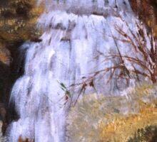 Waterfall in Alcube - Portugal Sticker