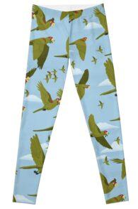 Parakeet Migration Leggings