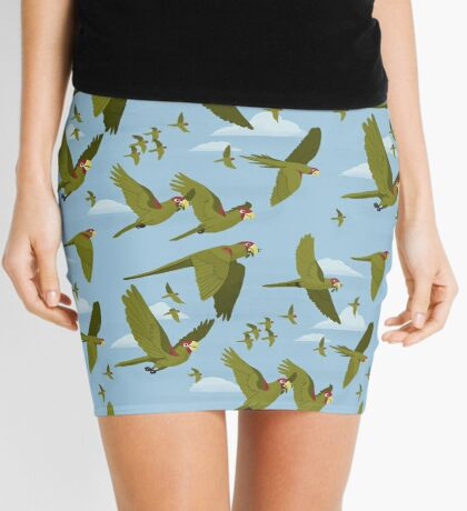 Parakeet Migration Mini Skirt