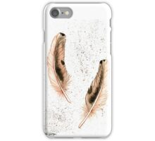 2 Feathers iPhone Case/Skin