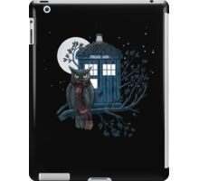 Owl And Tardis iPad Case/Skin