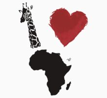 I Heart Africa (remix) by Tai's Tees by TAIs TEEs