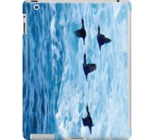 Cormorants  Skimming the Waves off Inishmore iPad Case/Skin