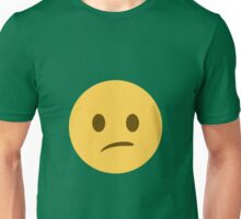 Confused face Unisex T-Shirt