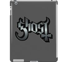 GHOST - reel steel iPad Case/Skin