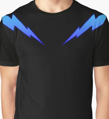 Blue Zaps Graphic T-Shirt