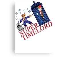 Super TimeLord Canvas Print